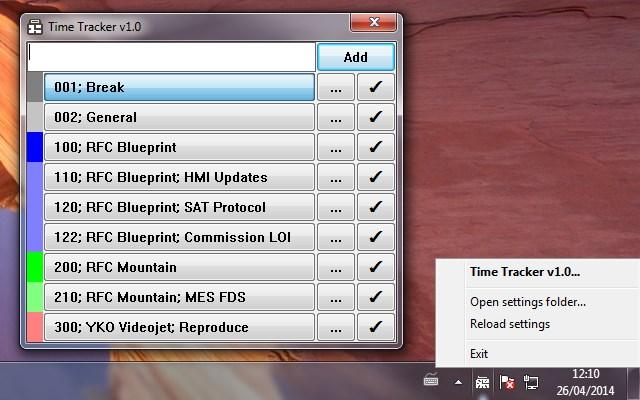 Simple, Lightweight, Universal Time-Tracker